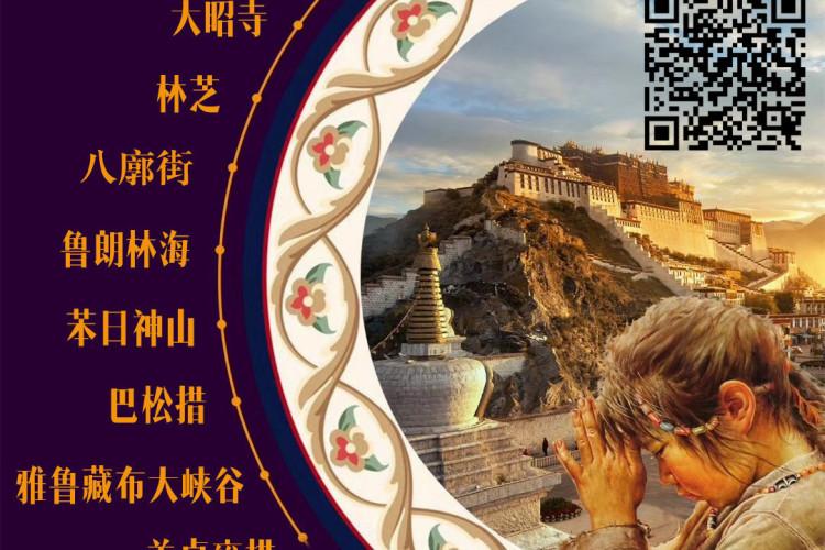 【西藏·五星盛宴】纯玩0自费,10人小包团、布达拉宫、大昭寺、林芝、雅鲁藏布江大峡谷、羊卓雍措