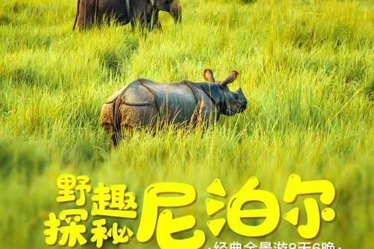 【野趣探秘尼泊尔】广州直飞尼泊尔8天6晚经典全景游?加满都德当地5星、博卡拉自由活动1天