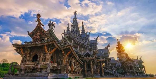 【11月泰國五星奢華薩瓦迪卡】曼谷+芭提雅+《澳門風云2》拍攝地真理寺+金沙島出海+火車頭夜市雙飛7日游