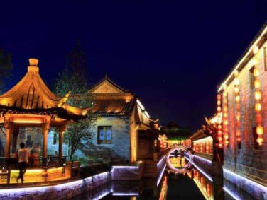 棗莊臺兒莊古城、臺兒莊大戰紀念館、微山湖國家濕地大巴二日游