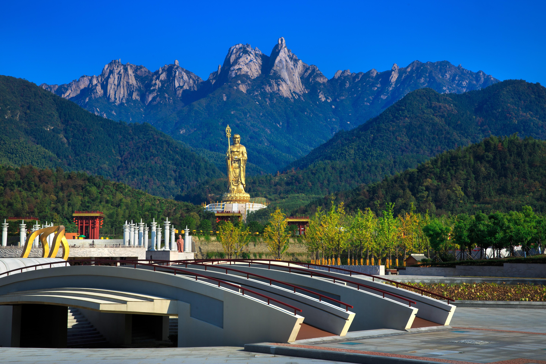 黃山、東方日內瓦太平湖、99米地藏王菩薩圣像景區、 徽州文化博物館、屯溪老街四天雙飛純玩團